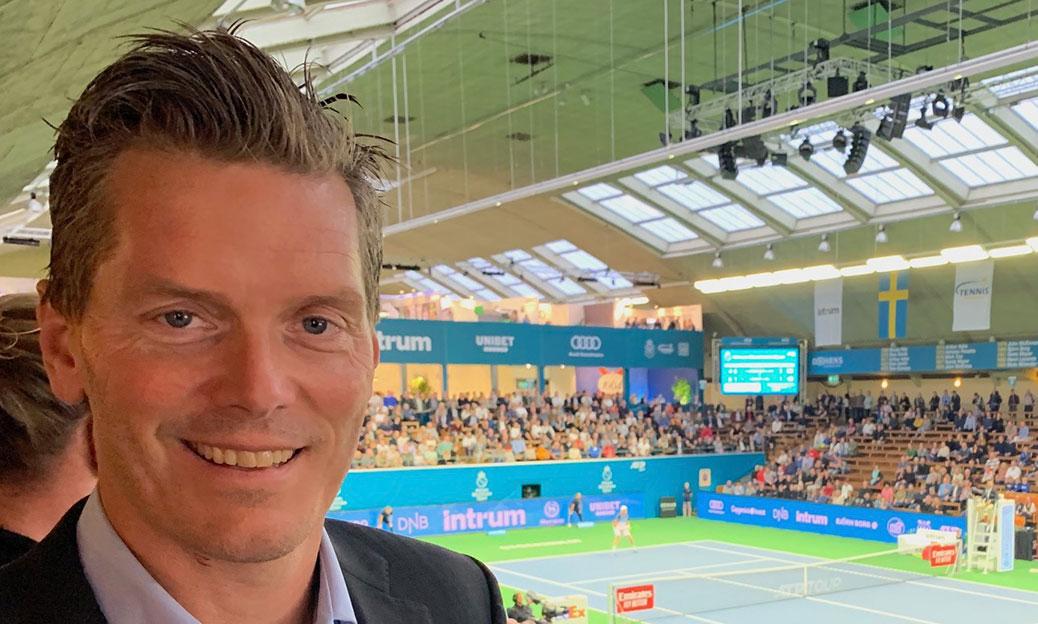 Thomas Enqvist på Stockholm Open 2019