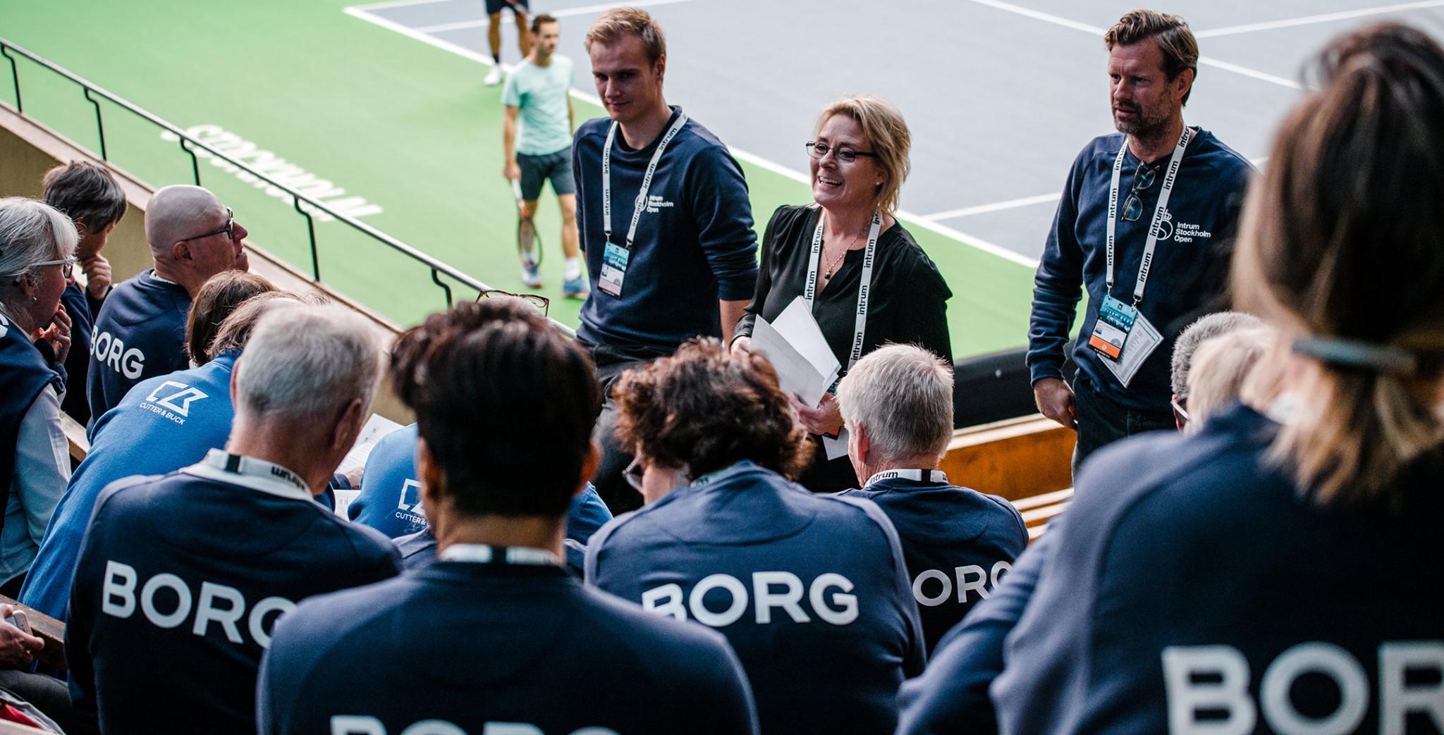 Funktionärer på Stockholm Open 2019